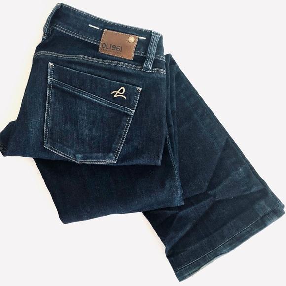 DL1961 Denim - BOGO DL1961 Cindy Slim Boot Bootcut Dark Wash Jean